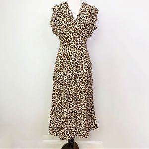 Sienna Sky leopard print  dress size small